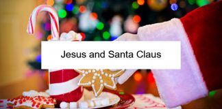 Jesus and Santa Claus