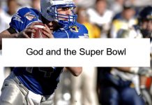 God and the Super Bowl