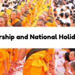 Worship and National Holidays