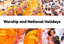 Worship and National Holidays