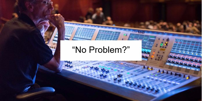 """No Problem?"""