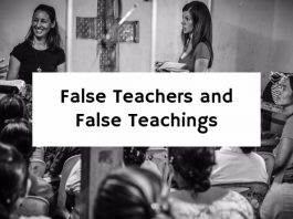 False Teachers and False Teachings