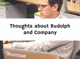 Thoughts about Rudolph and Company
