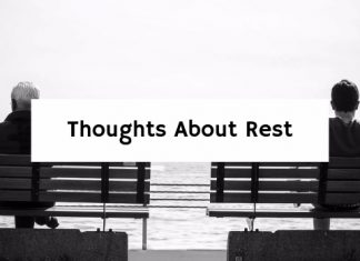 Thoughts About Rest