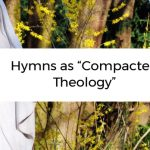 """Hymns as """"Compacted Theology"""""""