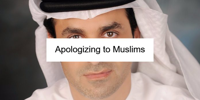 Apologizing to Muslims