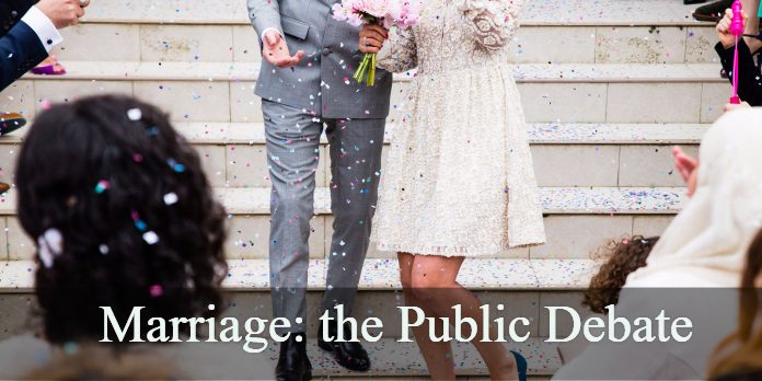 Marriage: the Public Debate