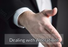 "Dealing with ""Alterations"""
