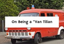 "On Being a ""Van Tilian"