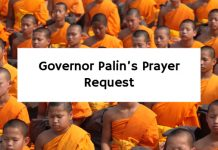 Governor Palin's Prayer Request
