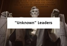 """Unknown"" Leaders"