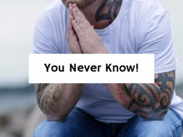"""You Never Know!"""""""
