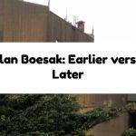 Allan Boesak: Earlier versus Later