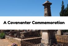A Covenanter Commemoration