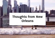 Thoughts from New Orleans