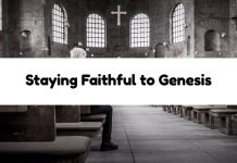 Staying Faithful to Genesis