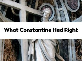 What Constantine Had Right