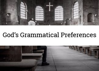 God's Grammatical Preferences