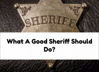 What A Good Sheriff Should Do?