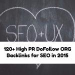 120+ High PR DoFollow