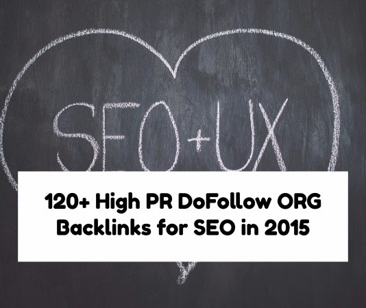 120+ High PR DoFollow