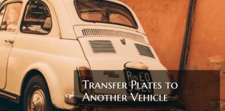 How To Transfer Plates To Another Vehicle