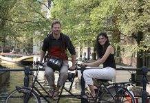 Harry and Ivana from World on a Bike